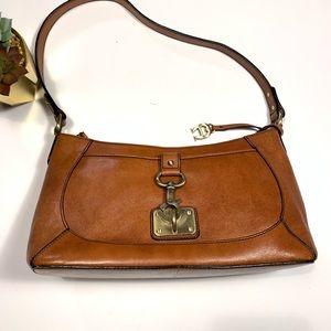Aigner vintage cowhide leather bag